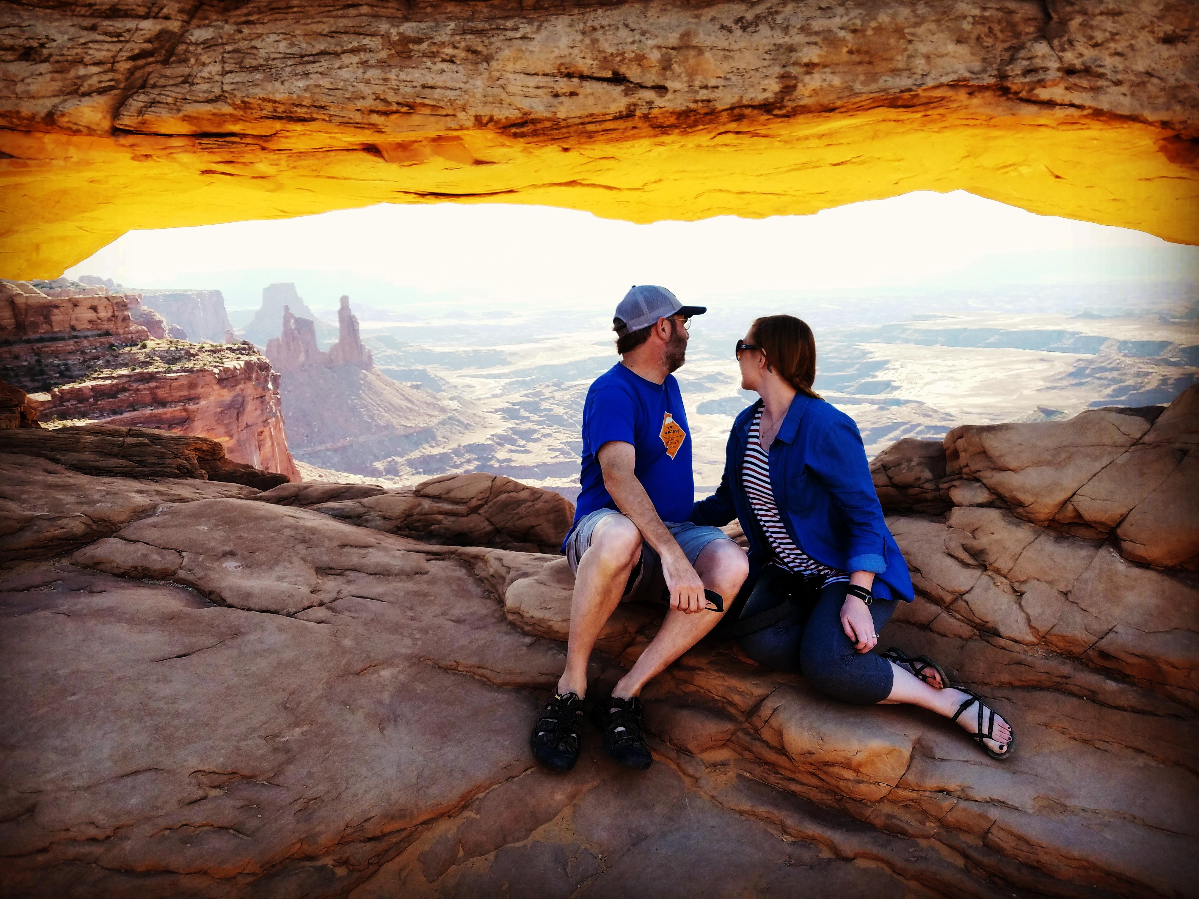 Mesa Arch shortly after Dawn
